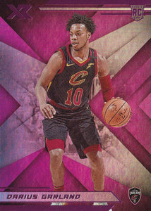 2019-20 Panini Chronicles Basketball Cards PINK Parallels: #274 Darius Garland RC - Cleveland Cavaliers