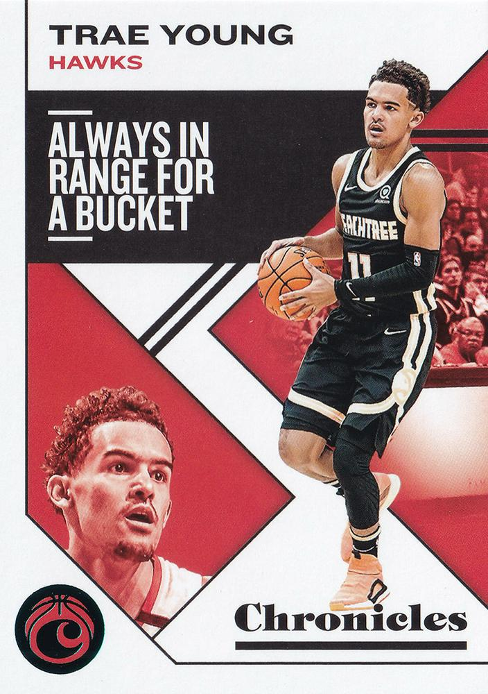 2019-20 Panini Chronicles Basketball Cards TEAL Parallels: #12 Trae Young  - Atlanta Hawks