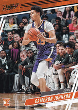 Load image into Gallery viewer, 2019-20 Panini Chronicles Basketball Cards TEAL Parallels: #55 Cameron Johnson  - Phoenix Suns