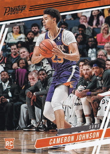 2019-20 Panini Chronicles Basketball Cards TEAL Parallels: #55 Cameron Johnson  - Phoenix Suns