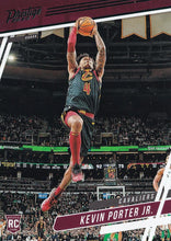 Load image into Gallery viewer, 2019-20 Panini Chronicles Basketball Cards TEAL Parallels: #63 Kevin Porter Jr.  - Cleveland Cavaliers