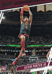 2019-20 Panini Chronicles Basketball Cards TEAL Parallels: #63 Kevin Porter Jr.  - Cleveland Cavaliers