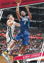 Load image into Gallery viewer, 2019-20 Panini Chronicles Basketball Cards TEAL Parallels: #71 Kawhi Leonard  - Los Angeles Clippers