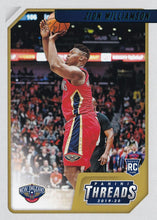 Load image into Gallery viewer, 2019-20 Panini Chronicles Basketball Cards TEAL Parallels: #78 Zion Williamson RC - New Orleans Pelicans