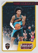 Load image into Gallery viewer, 2019-20 Panini Chronicles Basketball Cards TEAL Parallels: #99 Kevin Porter Jr. RC - Cleveland Cavaliers