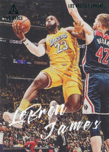 Load image into Gallery viewer, 2019-20 Panini Chronicles Basketball Cards TEAL Parallels: #162 LeBron James  - Los Angeles Lakers
