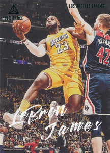 2019-20 Panini Chronicles Basketball Cards TEAL Parallels: #162 LeBron James  - Los Angeles Lakers