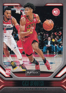 2019-20 Panini Chronicles Basketball Cards TEAL Parallels: #183 Cam Reddish RC - Atlanta Hawks