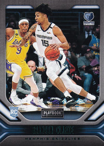 2019-20 Panini Chronicles Basketball Cards TEAL Parallels: #190 Brandon Clarke RC - Memphis Grizzlies