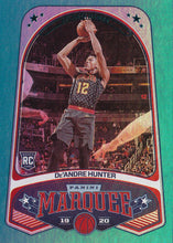 Load image into Gallery viewer, 2019-20 Panini Chronicles Basketball Cards TEAL Parallels: #256 De'Andre Hunter RC - Atlanta Hawks