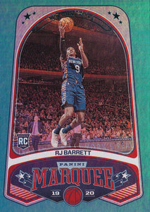 2019-20 Panini Chronicles Basketball Cards TEAL Parallels: #259 RJ Barrett RC - New York Knicks