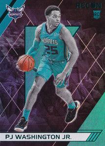2019-20 Panini Chronicles Basketball Cards TEAL Parallels: #288 PJ Washington Jr. RC - Charlotte Hornets