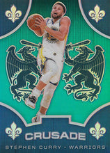 Load image into Gallery viewer, 2019-20 Panini Chronicles Basketball Cards TEAL Parallels: #530 Stephen Curry  - Golden State Warriors