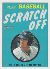 Load image into Gallery viewer, 2020 Topps Heritage Minor League SCRATCH OFF Inserts ~ Pick your card