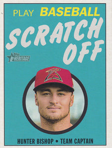 2020 Topps Heritage Minor League SCRATCH OFF Inserts ~ Pick your card