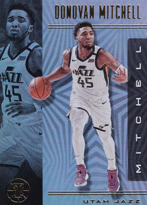 2019-20 Panini Illusions Basketball Cards #1-100: #2 Donovan Mitchell  - Utah Jazz