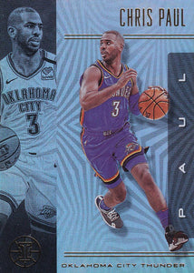2019-20 Panini Illusions Basketball Cards #1-100: #3 Chris Paul  - Oklahoma City Thunder
