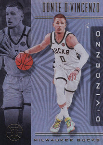 2019-20 Panini Illusions Basketball Cards #1-100: #6 Donte DiVincenzo  - Milwaukee Bucks