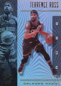 2019-20 Panini Illusions Basketball Cards #1-100: #10 Terrence Ross  - Orlando Magic
