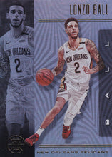 Load image into Gallery viewer, 2019-20 Panini Illusions Basketball Cards #1-100: #11 Lonzo Ball  - New Orleans Pelicans