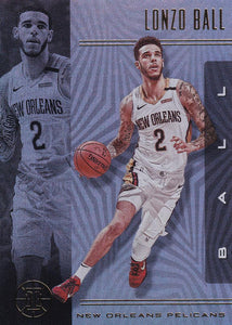 2019-20 Panini Illusions Basketball Cards #1-100: #11 Lonzo Ball  - New Orleans Pelicans