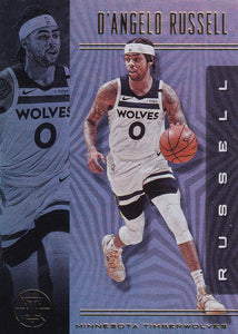 2019-20 Panini Illusions Basketball Cards #1-100: #12 D'Angelo Russell  - Minnesota Timberwolves