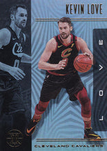 Load image into Gallery viewer, 2019-20 Panini Illusions Basketball Cards #1-100: #15 Kevin Love  - Cleveland Cavaliers