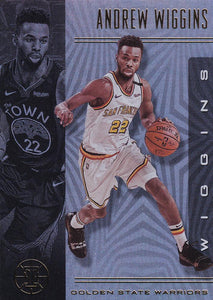 2019-20 Panini Illusions Basketball Cards #1-100: #22 Andrew Wiggins  - Golden State Warriors