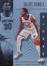 Load image into Gallery viewer, 2019-20 Panini Illusions Basketball Cards #1-100: #25 Julius Randle  - New York Knicks
