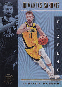 2019-20 Panini Illusions Basketball Cards #1-100: #29 Domantas Sabonis  - Indiana Pacers