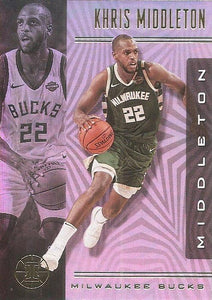 2019-20 Panini Illusions Basketball Cards #1-100: #31 Khris Middleton  - Milwaukee Bucks