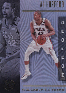 2019-20 Panini Illusions Basketball Cards #1-100: #33 Al Horford  - Philadelphia 76ers