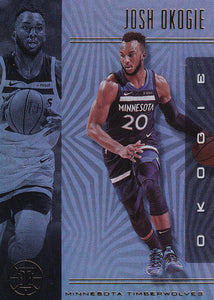 2019-20 Panini Illusions Basketball Cards #1-100: #34 Josh Okogie  - Minnesota Timberwolves