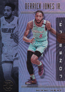 2019-20 Panini Illusions Basketball Cards #1-100: #39 Derrick Jones Jr.  - Miami Heat