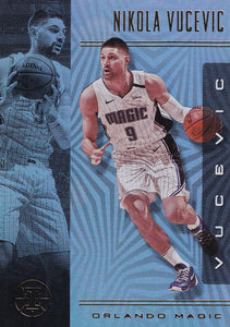 2019-20 Panini Illusions Basketball Cards #1-100: #40 Nikola Vucevic  - Orlando Magic