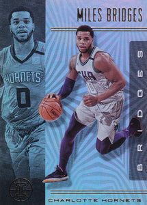 2019-20 Panini Illusions Basketball Cards #1-100: #41 Miles Bridges  - Charlotte Hornets