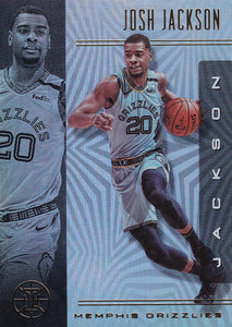 2019-20 Panini Illusions Basketball Cards #1-100: #42 Josh Jackson  - Memphis Grizzlies