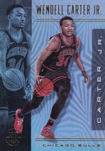 Load image into Gallery viewer, 2019-20 Panini Illusions Basketball Cards #1-100: #45 Wendell Carter Jr.  - Chicago Bulls