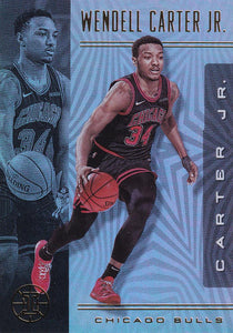2019-20 Panini Illusions Basketball Cards #1-100: #45 Wendell Carter Jr.  - Chicago Bulls