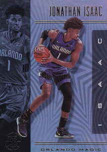 2019-20 Panini Illusions Basketball Cards #1-100: #49 Jonathan Isaac  - Orlando Magic