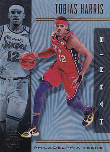 2019-20 Panini Illusions Basketball Cards #1-100: #51 Tobias Harris  - Philadelphia 76ers