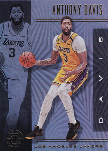 2019-20 Panini Illusions Basketball Cards #1-100: #54 Anthony Davis  - Los Angeles Lakers