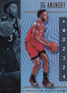 2019-20 Panini Illusions Basketball Cards #1-100: #55 OG Anunoby  - Toronto Raptors
