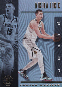 2019-20 Panini Illusions Basketball Cards #1-100: #60 Nikola Jokic  - Denver Nuggets