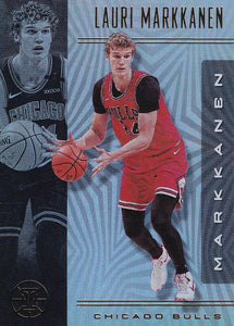 2019-20 Panini Illusions Basketball Cards #1-100: #61 Lauri Markkanen  - Chicago Bulls