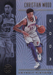 2019-20 Panini Illusions Basketball Cards #1-100: #64 Christian Wood  - Detroit Pistons