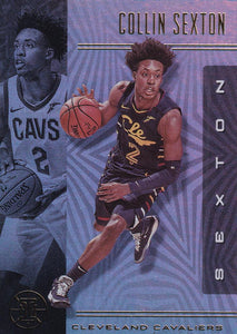 2019-20 Panini Illusions Basketball Cards #1-100: #65 Collin Sexton  - Cleveland Cavaliers