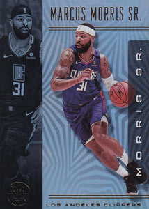 2019-20 Panini Illusions Basketball Cards #1-100: #67 Marcus Morris Sr.  - Los Angeles Clippers