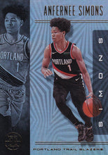 Load image into Gallery viewer, 2019-20 Panini Illusions Basketball Cards #1-100: #69 Anfernee Simons  - Portland Trail Blazers