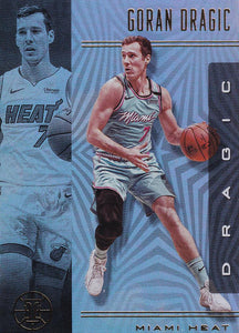 2019-20 Panini Illusions Basketball Cards #1-100: #70 Goran Dragic  - Miami Heat